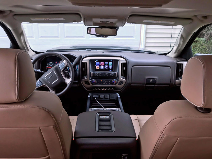 With the Denali, you'll experience a very luxurious interior.