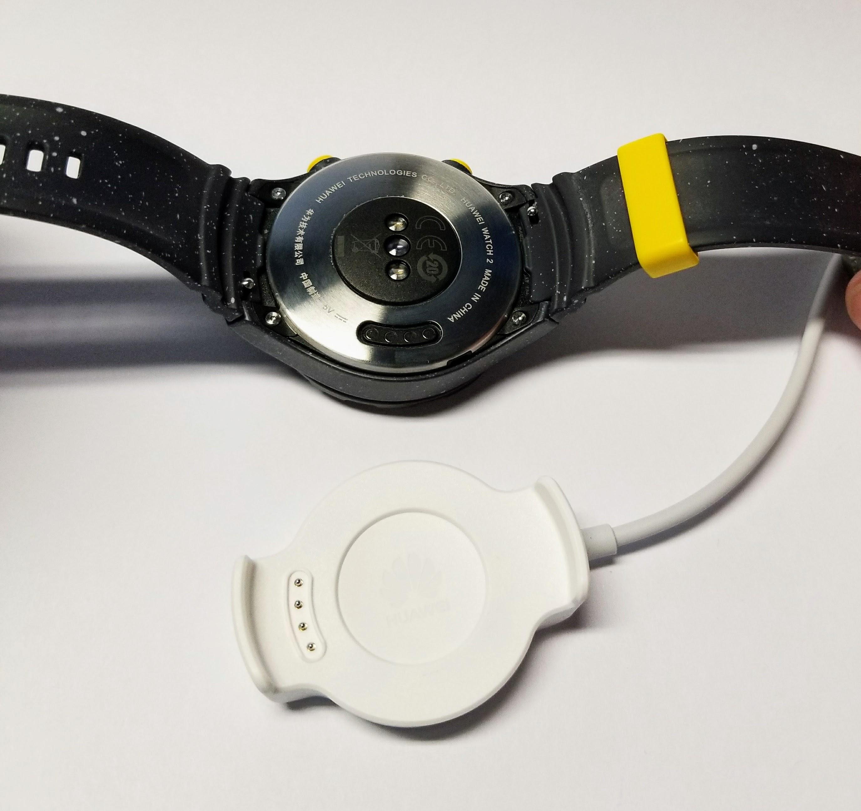 huawei watch 2 charging