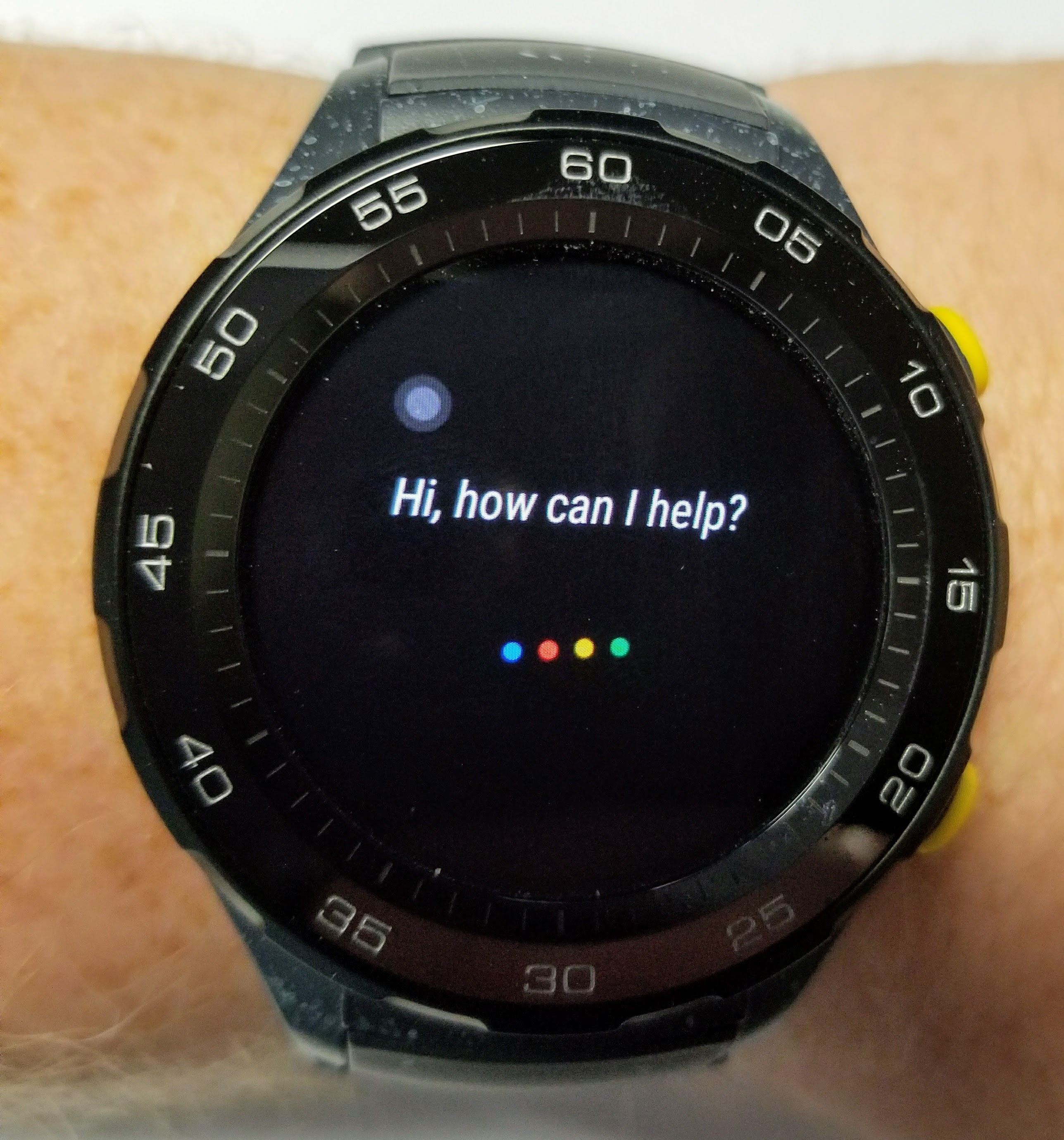 huawei watch 2 google assistant