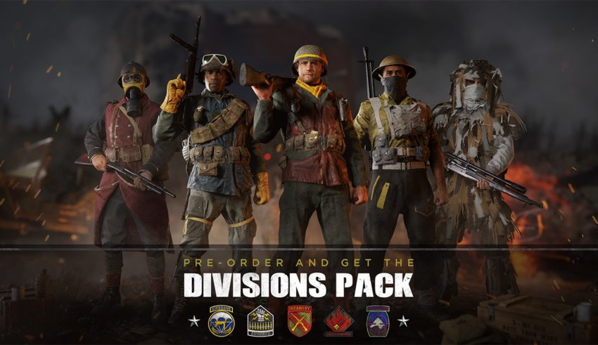 Here's what you need to know about the Call of Duty: WWII divisions.