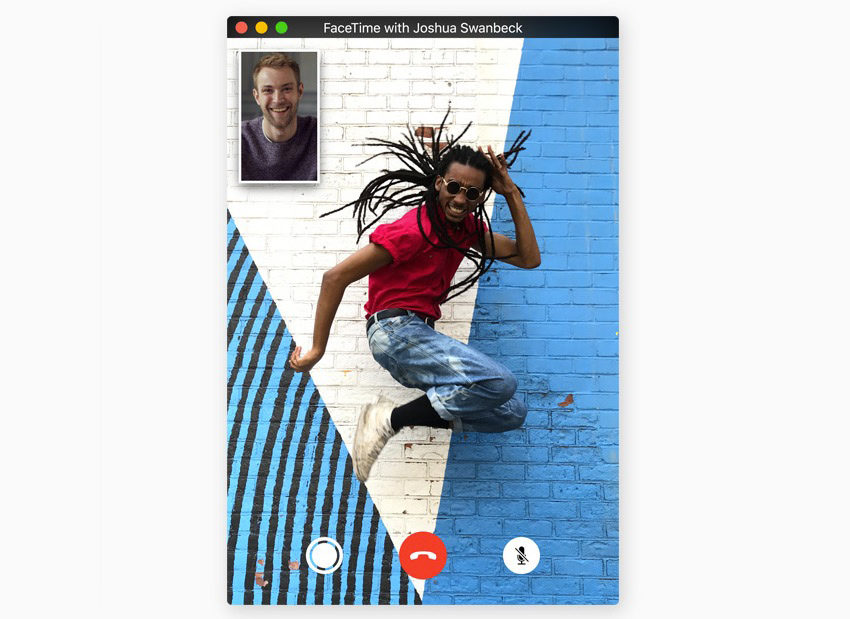 Take a Live Photo in FaceTime