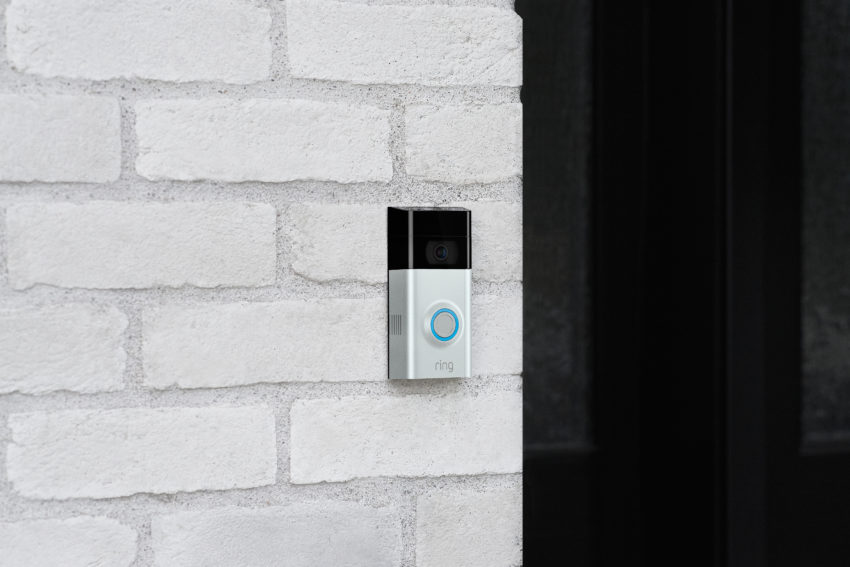 The Ring Video Doorbell 2 is slightly larger than the old model.