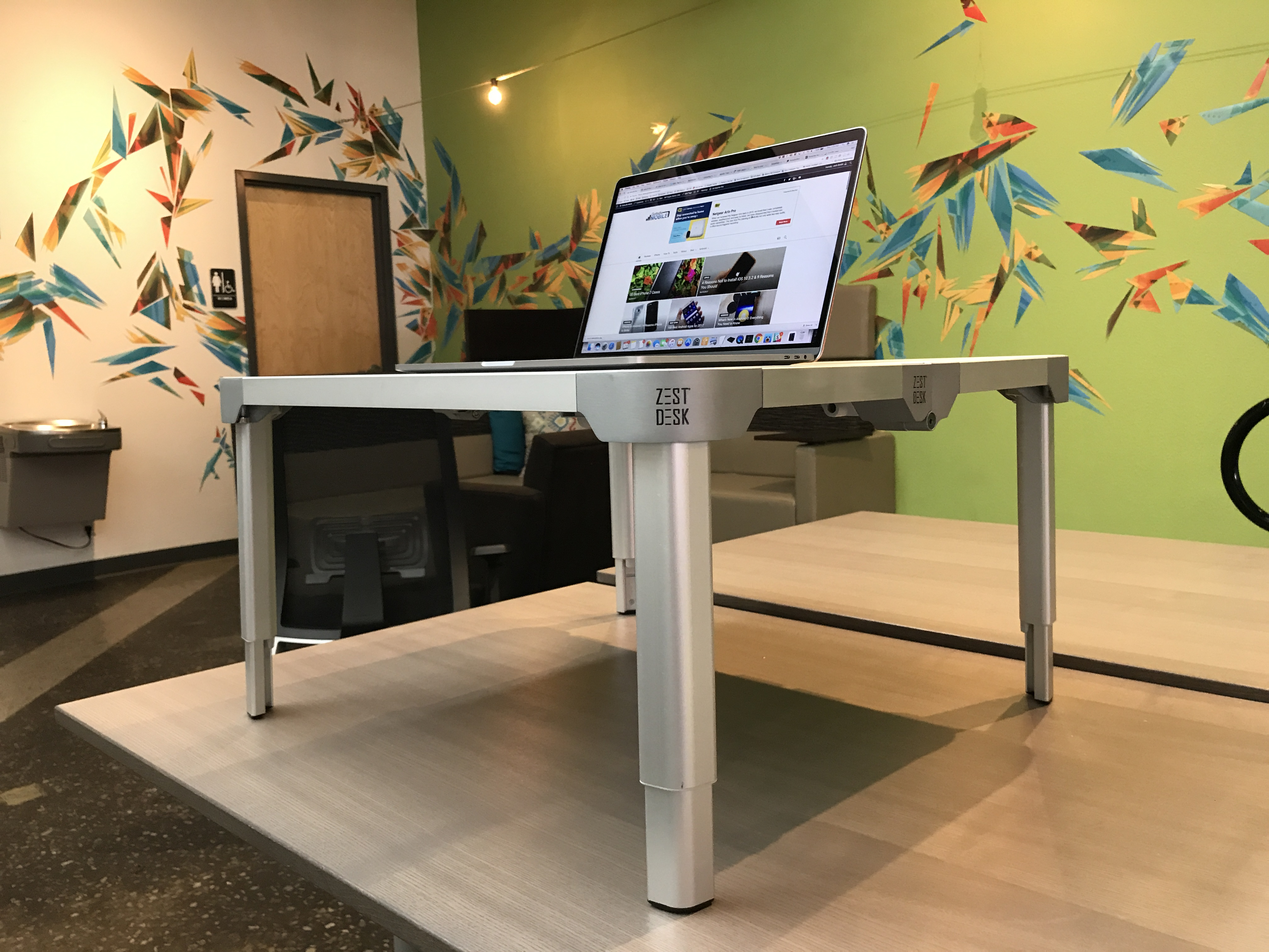 The ZestDesk is a great portable standing desk.
