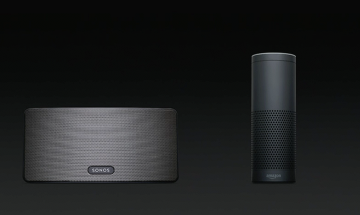 Apple HomePod competition: Alexa Amazon Echo, Sonos Play:5