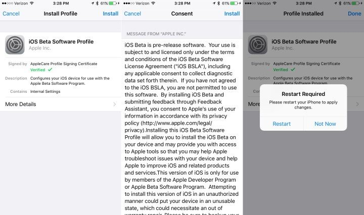Install the iOS 11 Beta to your iPhone with the Developer Profile.
