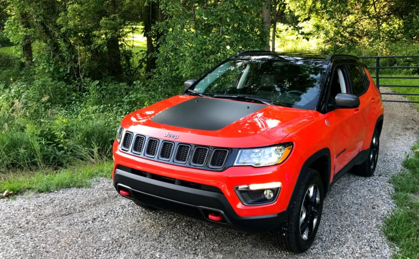 The 2017 Jeep Compass Trailhawk is capable on the road and off-road.