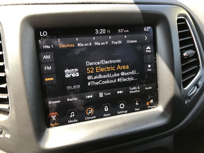 The Uconnect system works exceptionally well and supports Android Auto and Apple Carplay.