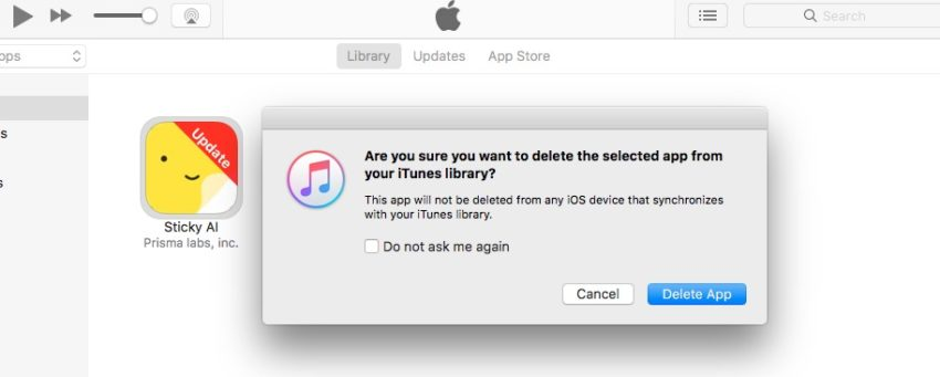 Delete iPhone apps on your Mac to free up space.