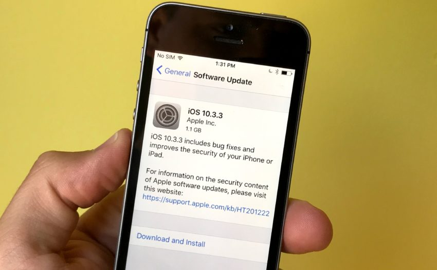 Get Familiar with iOS 10.3.3 & Other iOS Updates