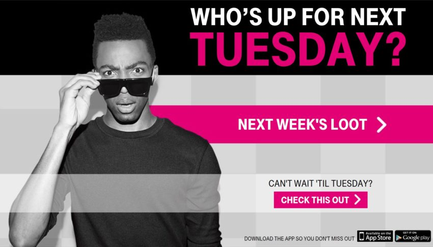 Do Switch for T-Mobile Tuesdays