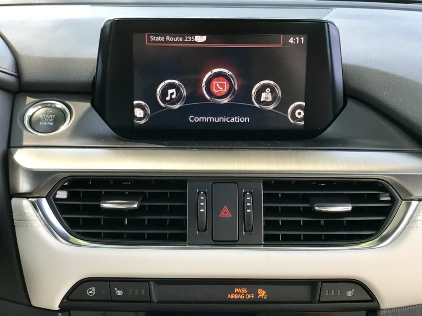 There is no support for CarPlay or Android Auto yet.