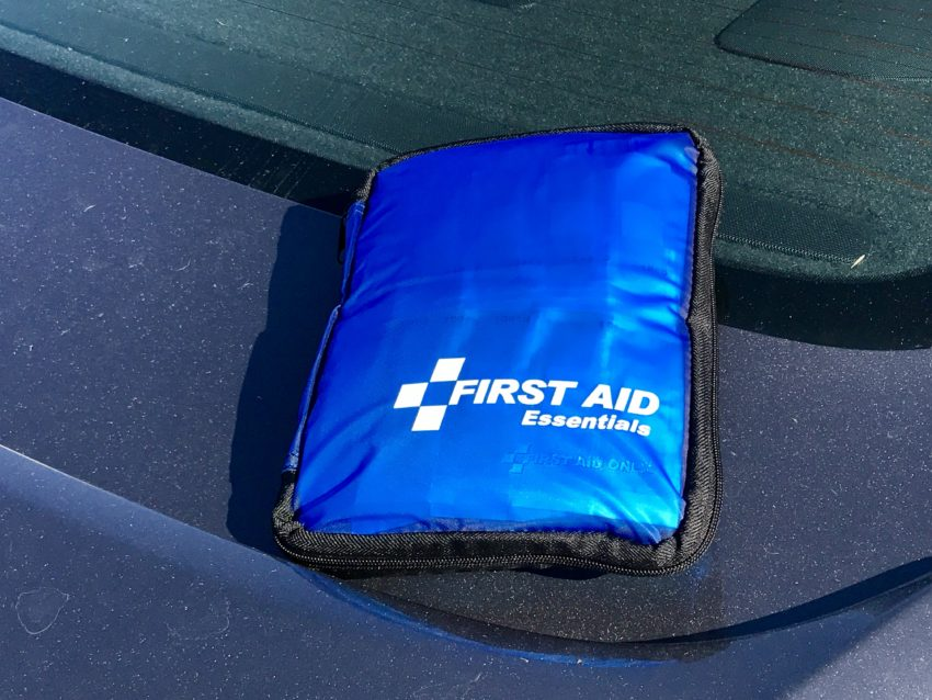 Make sure there is a good first aid kit and list of things to do.