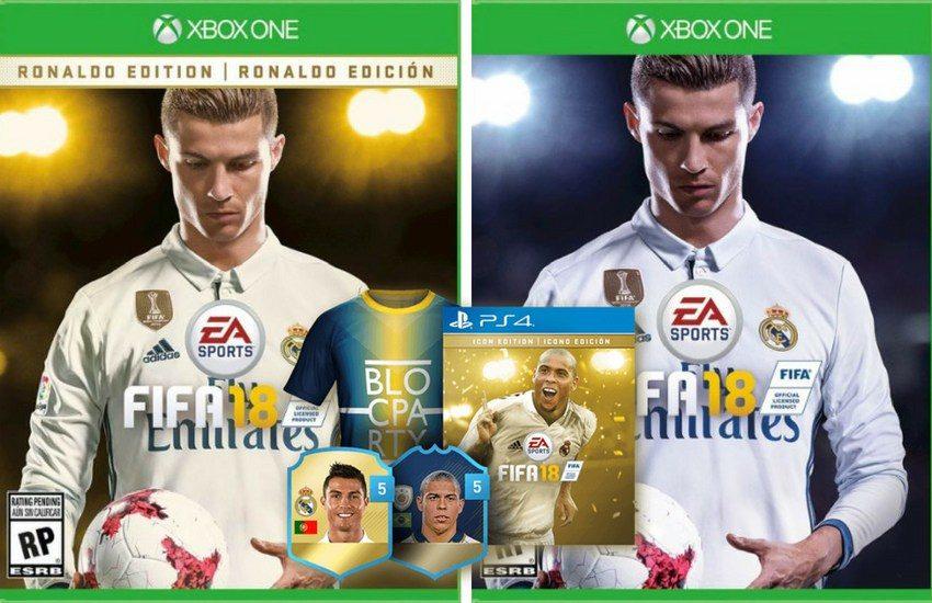 You Want theFIFA 18 Ronaldo Edition