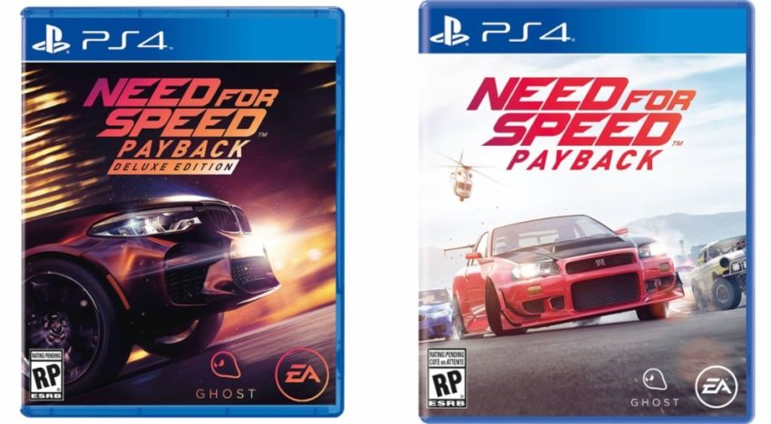 There are two Need for Speed Payback editions.
