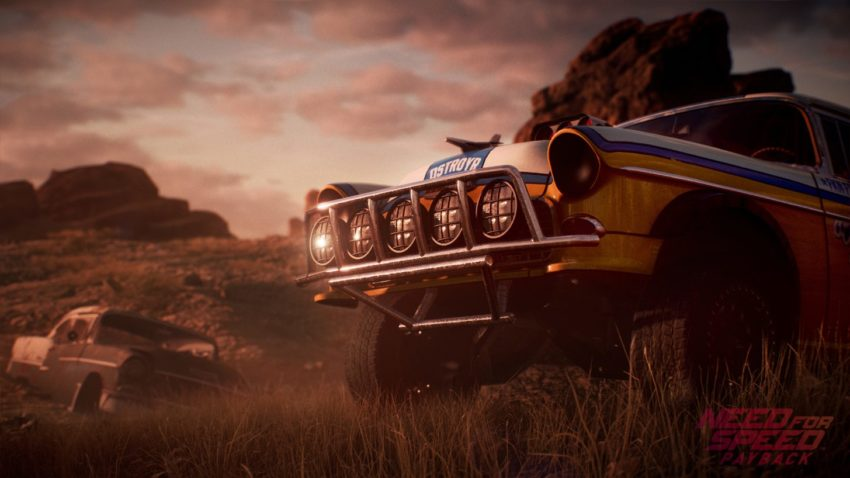 There are a wide range of Need for Speed Payback cars and a lot of customization.