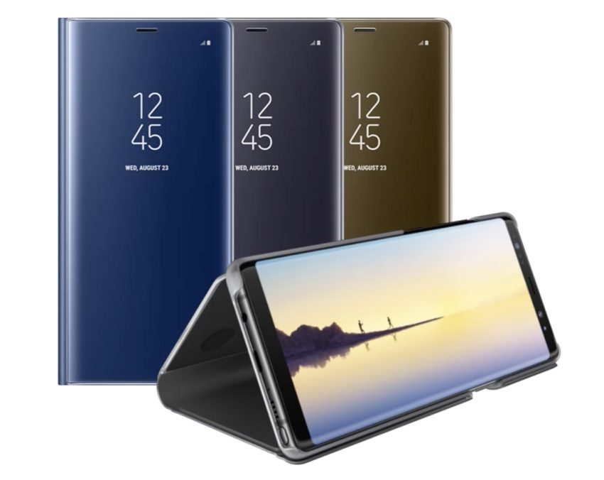 Note 8 ClearView Standing Cover