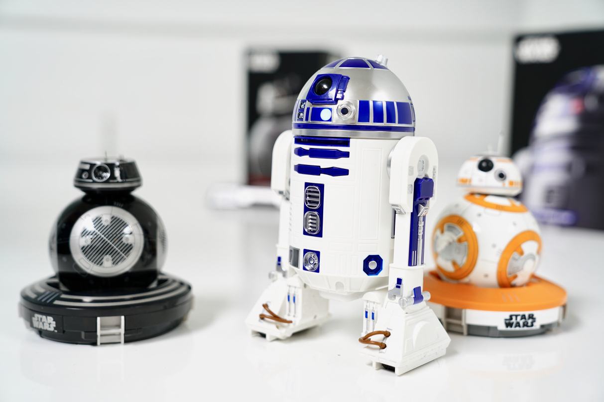 Star Wars r2-d2 sphero droid