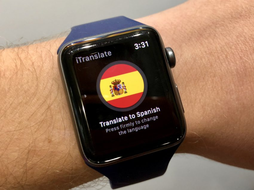 Use Your Apple Watch as a Translator