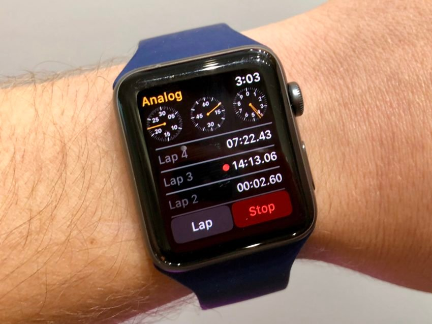Use the Apple Watch as a Stop Watch