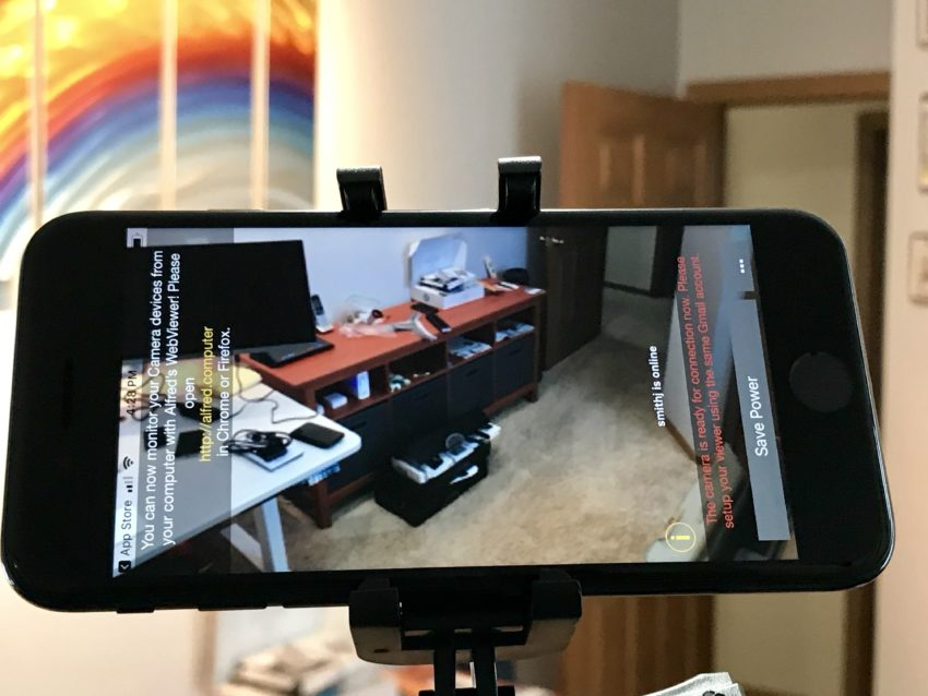 Use your old iPhone as a security camera.