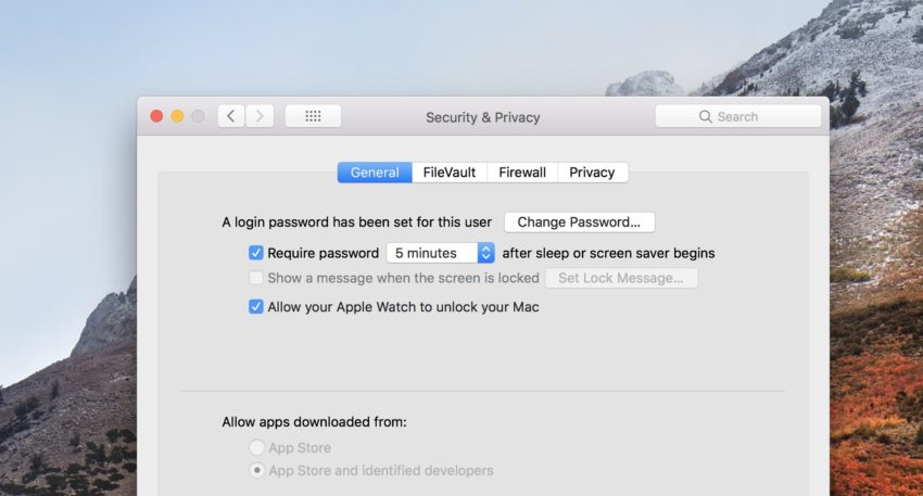 Stop your mac randomly logging you out on macOS High Sierra.