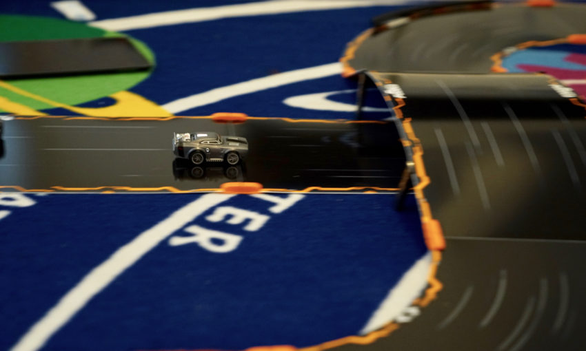 Anki OVERDRIVE: Fast & Furious Edition Review - Ice Charger Racing on track