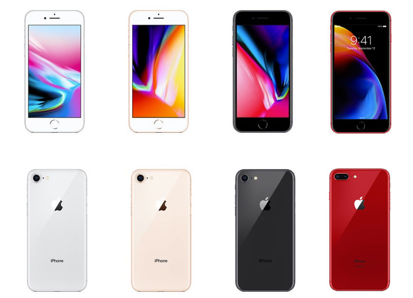 Here's the iPhone 8 color combinations you can choose in 2018.