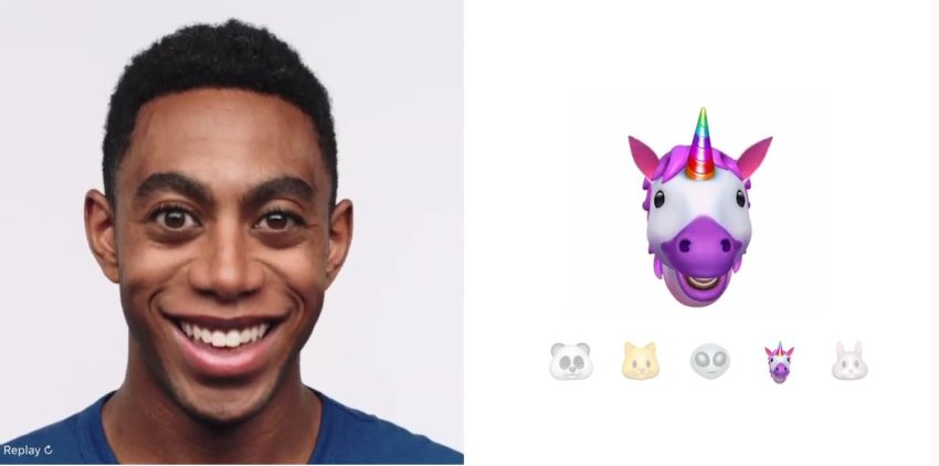 You can only use Animoji on the iPhone X.