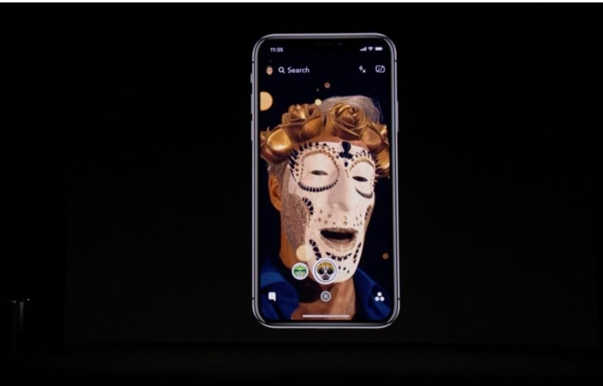 The iPhone X tracks your face better than the iPhone 8 and older iPhones.
