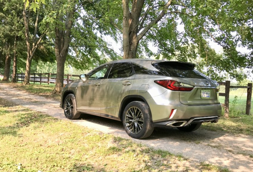 The 2017 Lexus RX 350 F Sport drives and handles nicely.