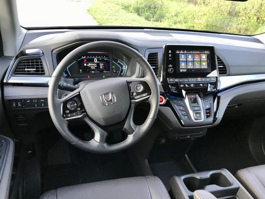 The driver will enjoy this seat and all the tech.