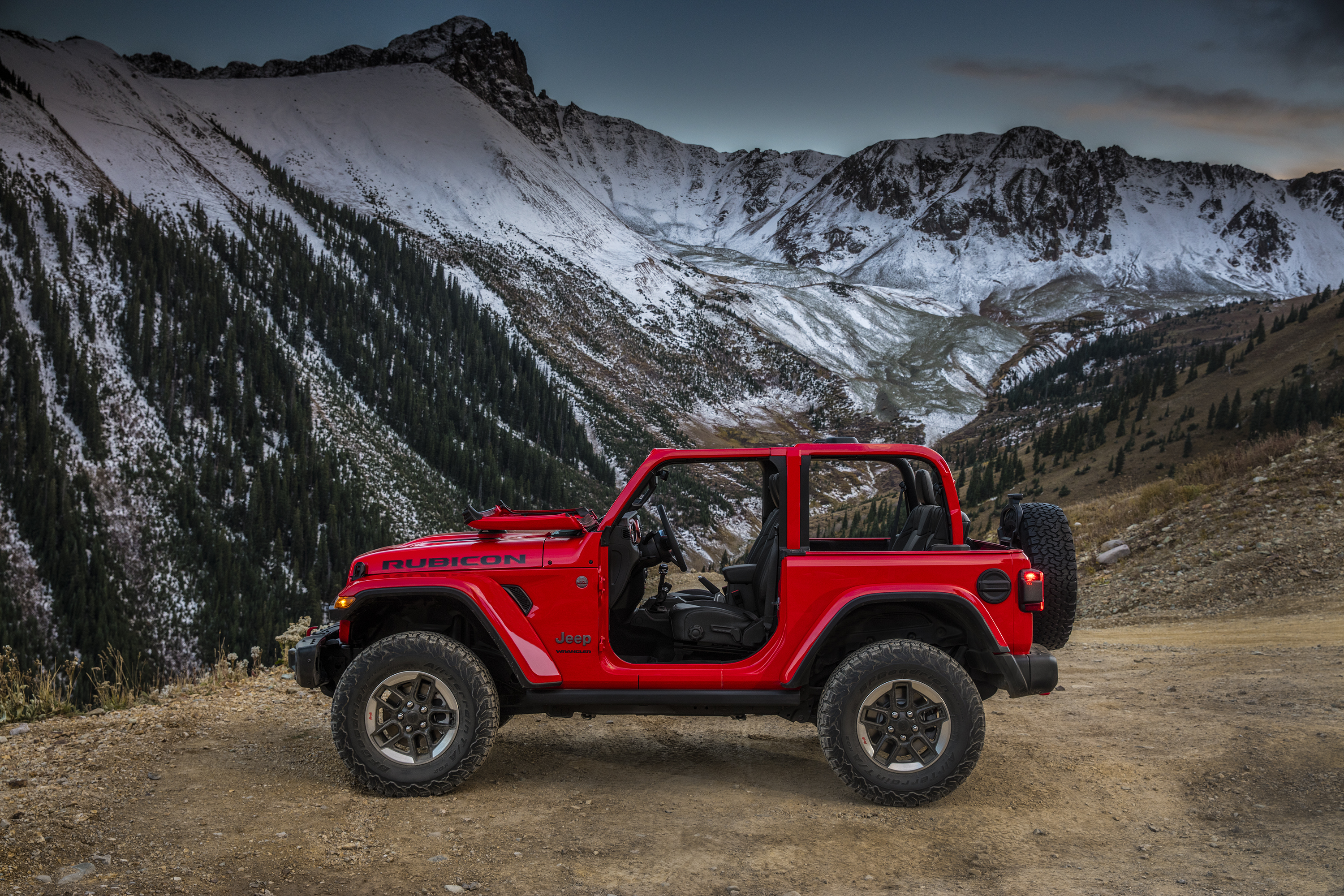 The All-new 2018 Jeep Wrangler Rubicon.