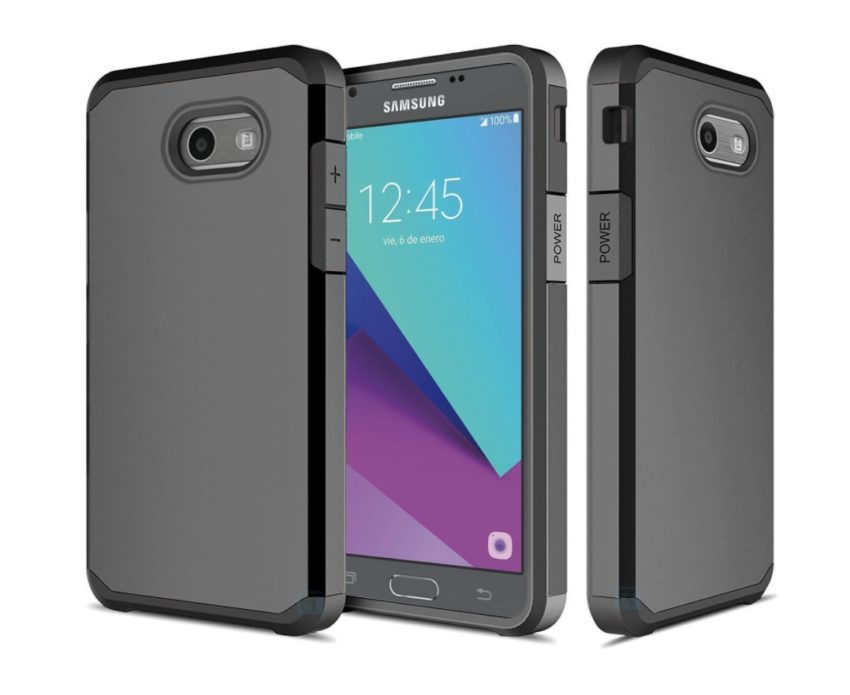 ATUS Hybrid Case with Tempered Glass Screen Protector