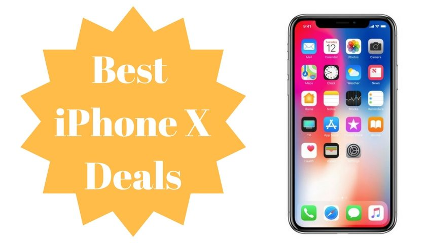 The best iPhone X deals you can find.