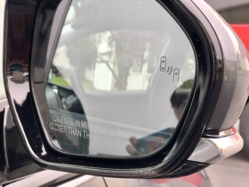 Blind Spot Monitoring with Rear Cross Traffic Alert