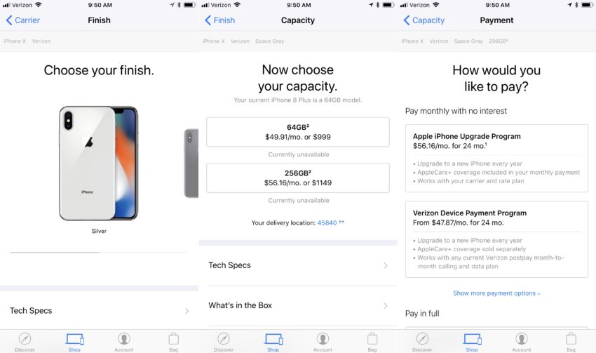 How to buy the iPhone X.
