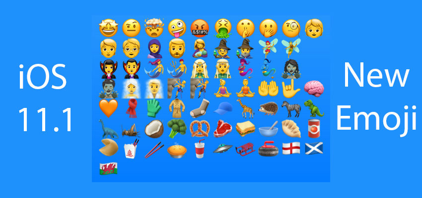 Here are all the new iOS 11.1 emoji.