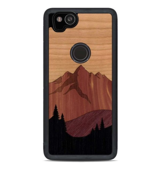 CARVED Real Wood Cases ($39)