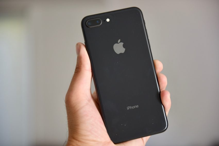 iPhone 8 Plus Review image back of the latest iPhone