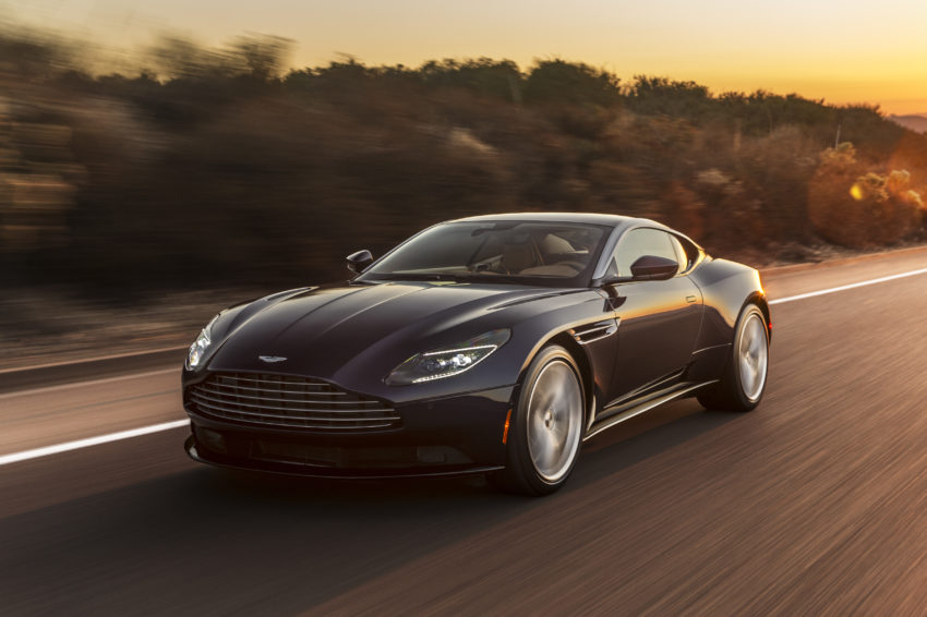 What you need to know about the 2018 Aston Martin DB11 V8,