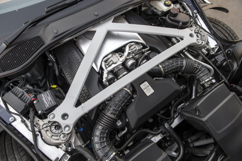 The V8 Engine is From Mercedes-AMG