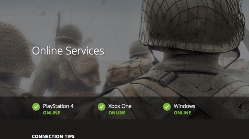 How to fix Call of Duty: WWII connection problems.