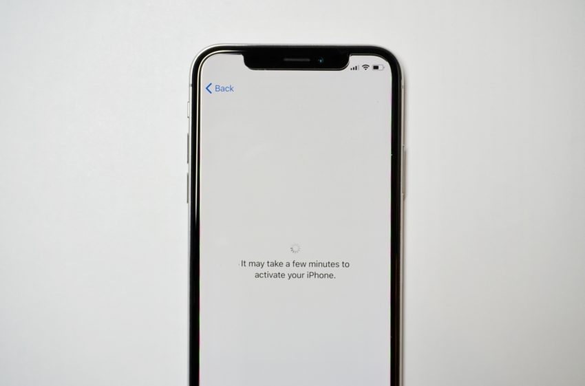 Activate your iPhone X on your carrier to get started.