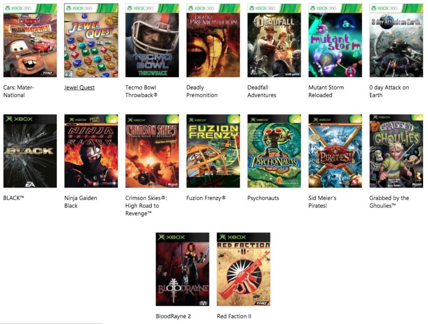 Play Your Xbox & Xbox 360 Games