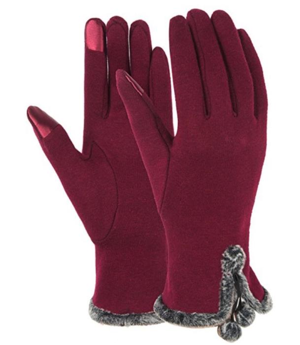 Dimore Women Fashion Touchscreen Gloves