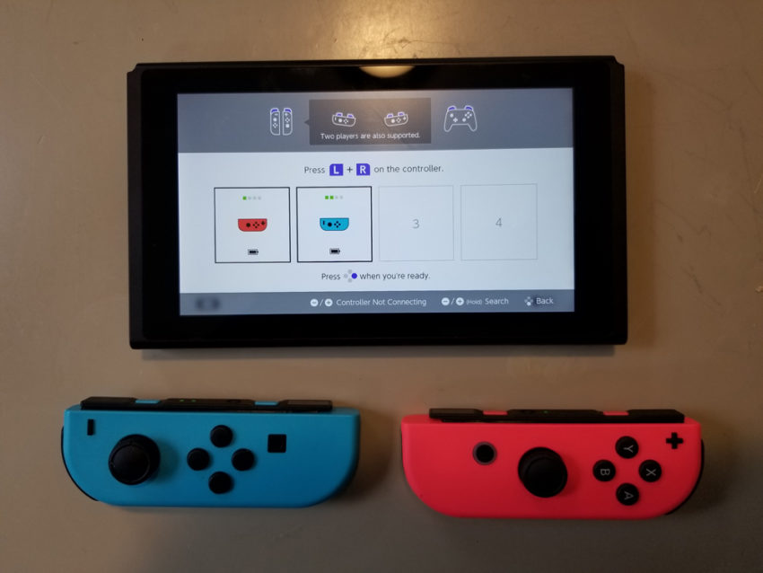 Play two Players on Nintendo Switch