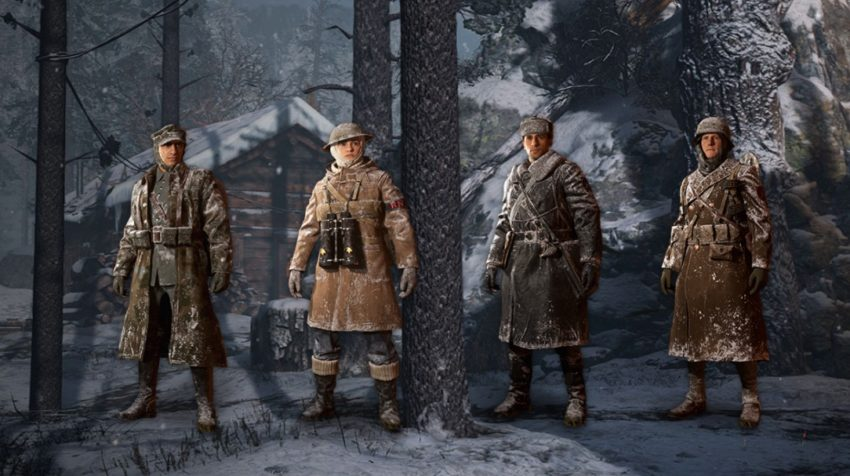 Get cool new gear in Winter Siege supply drops.