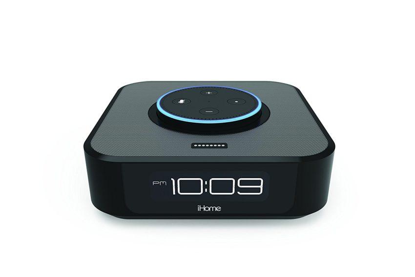 iHome iAVS1 Bedside Stereo Speaker System for Echo Dot - $49.94