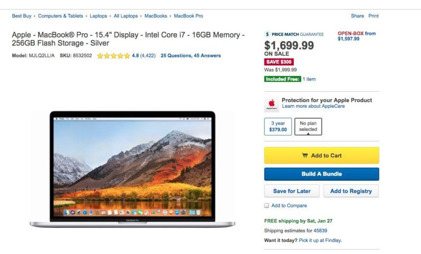 Don't Wait for MacBook Pro Deals