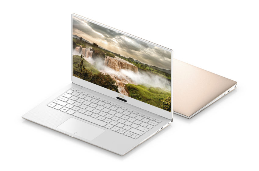 This is the 2018 Dell XPS 13 with 8th gen Intel processors.